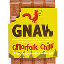 Gnorfolk Chilli Milk Chocolate Bar