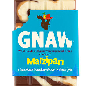 Marzipan Milk And White Chocolate Bar - food & drink gifts