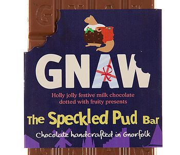 Speckled Pud Milk Chocolate Bar