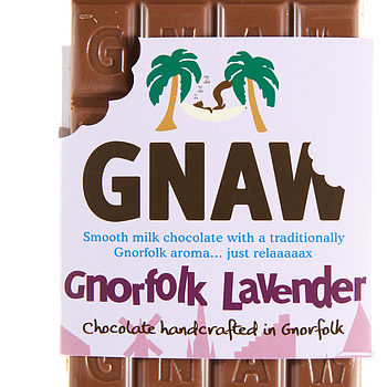Lavender Milk Chocolate Bar