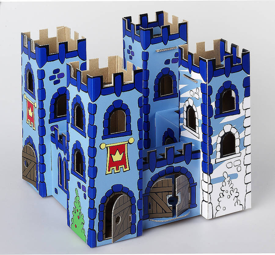colour in castle and palace by thelittleboysroom   notonthehighstreet com