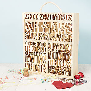 personalised wedding gifts | notonthehighstreet.