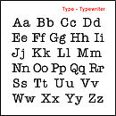 Type - Typerwriter