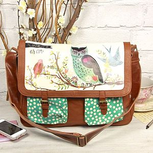 'As Wise As An Owl' Satchel