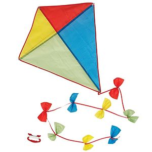 Traditional Diamond Kite - outdoor toys & games