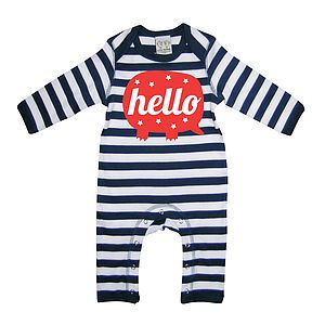 'Hello' Playsuit Romper