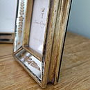 Venetian Style Gold Mirror Photo Frame