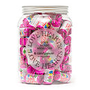 Personalised Wedding Jar Of Sweets