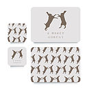 Hare Coaster Or Placemat