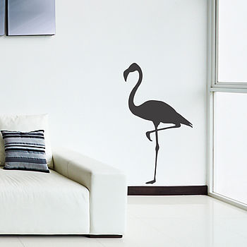 Flamingo Vinyl Wall Sticker