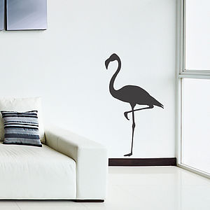 Flamingo Vinyl Wall Sticker - wall stickers