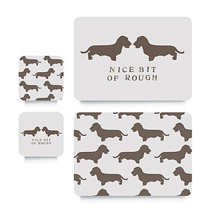 Wired Daxi Coaster Or Placemat - dining room