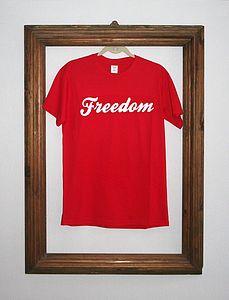 'Freedom' T Shirt - tops & t-shirts
