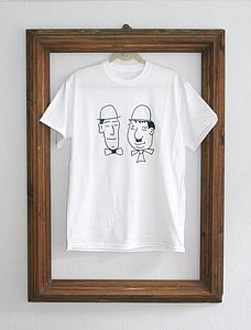 Laurel And Hardy T Shirt - tops & t-shirts