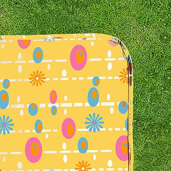 Pop Design Picnic Rug