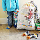 Personalised Child's Laundry Bag