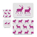 Stag Coaster Or Placemat