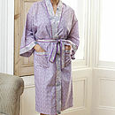 Kimono Dressing Gown In Spring Print