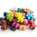 Set Of 24 Dinosaur Crayons