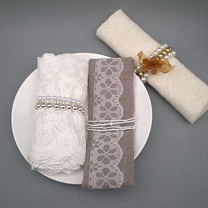 Set Of Three Napkin Holders