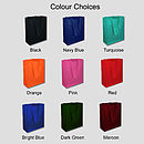 Bag Colour Choices