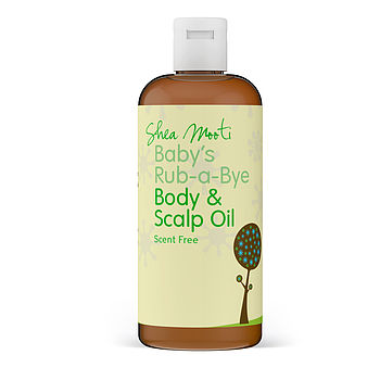 Baby's Rub A Bye Body And Scalp Oil