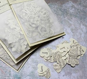 Vintage Style Paper Confetti - shop by category