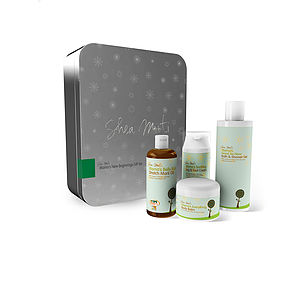 Mama's New Beginnings Gift Set Box - bath & body for new mums