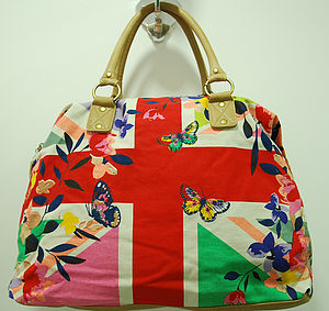 Union Jack Weekend Shoulder Bag - women's accessories