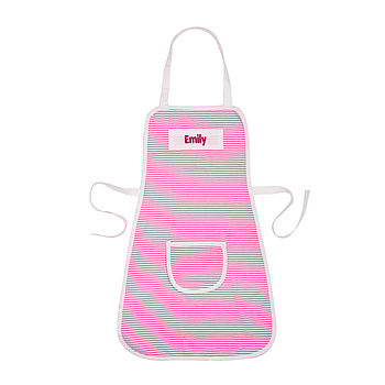 Personalised Girl's Stripe Apron