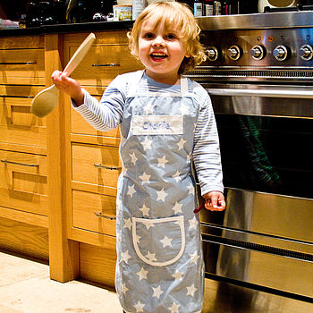 Personalised Child's Star Apron