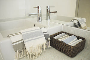 Cotton Honeycomb Hamam Towel - bed, bath & table linen