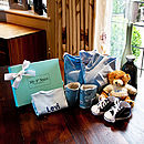 Personalised Eight Piece Boy's Gift Set