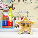 Sheriff Money Box Bank