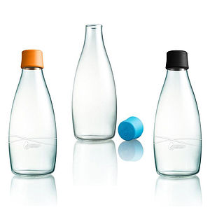 Retap Glass Water Bottles 800ml - tableware