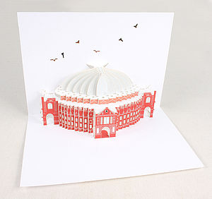 Albert Hall Pop Up Card - all purpose cards, postcards & notelets
