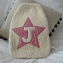 Girl's Star Hot Water Bottle