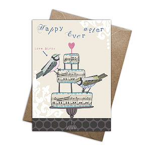 'Happy Ever After' Card - wedding cards