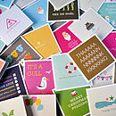 random gift cards by twin design
