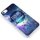 Geometric Space Galaxy Case For Iphones