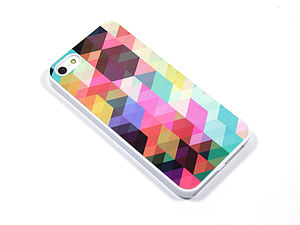 Geometric Colour Block Case For Iphones