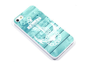 Anchor Wood Case For iPhone - leisure