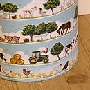 Child's Farmyard Lampshade