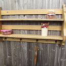 Reclaimed Housekeeper's Kitchen Shelf