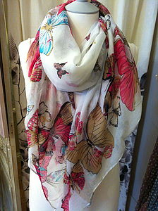 Butterfly Scarf - gifts under £25