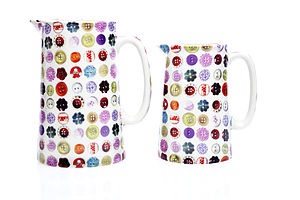 Buttons One Pint Jug - tableware