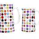 Buttons One Pint Jug