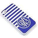 Personalised Monogram Stripe Case For IPhone