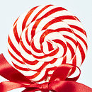 Giant Personalised Swirly Love Lollipop