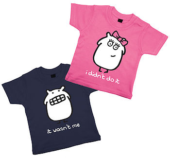 Boy And Girl T Shirt Set